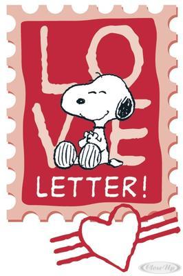 Peanuts Postkarte