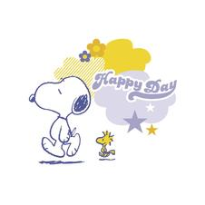 Peanuts Postkarte Happy Day