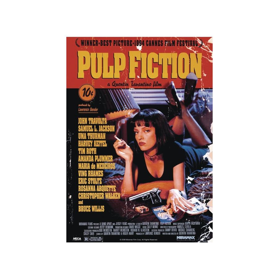 pulp fiction xxl poster hauptplakat uma thurman xxl poster jetzt im shop bestellen close up gmbh. Black Bedroom Furniture Sets. Home Design Ideas