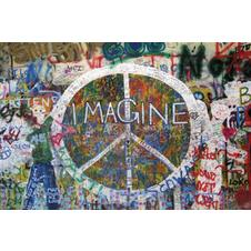 Peace Wall Poster Imagine