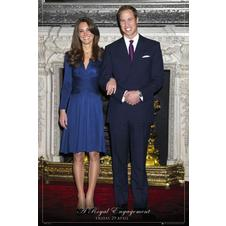 Prinz William und Kate Poster