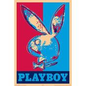 Playboy Art Logo Poster