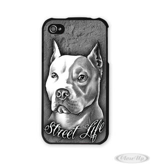 Pitbull iPhone Hülle Street