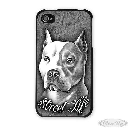 Pitbull iPhone H&uuml;lle Street Life f&uuml;r iPhone 4/4S