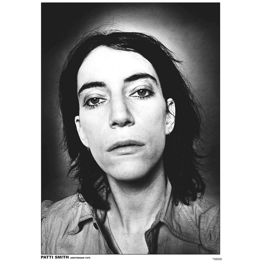 patti smith poster poster gro format jetzt im shop. Black Bedroom Furniture Sets. Home Design Ideas