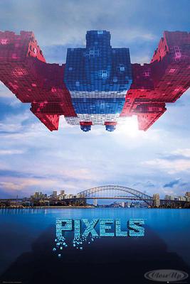 Pixels Poster Galaga