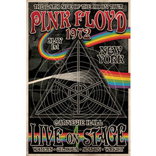 "Pink Floyd ""The Dark Side of the Moon Tour"" Poster"