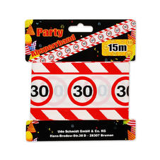 "Party Barrier Tape ""30"""