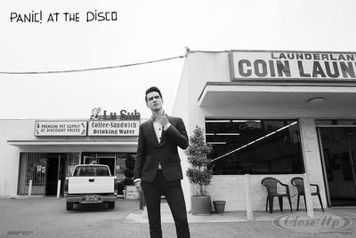 Panic! At The Disco Poster Brendon Laundromat