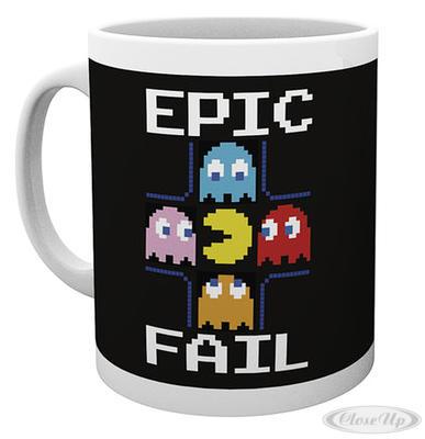 Pacman Tasse Epic Fail
