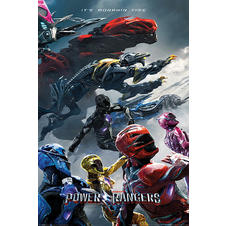 Power Rangers Poster Film