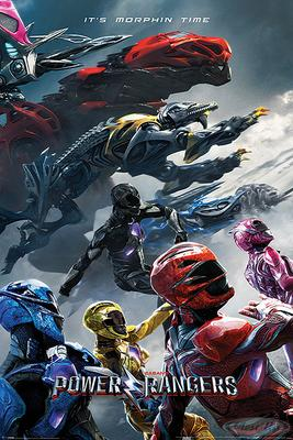 Power Rangers Poster Film Charge