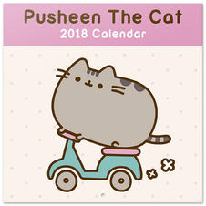 Pusheen The Cat Calendar 2018