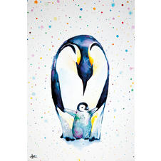 Pinguin Poster Little Steps