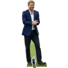 Prince Harry Card Board Stand up