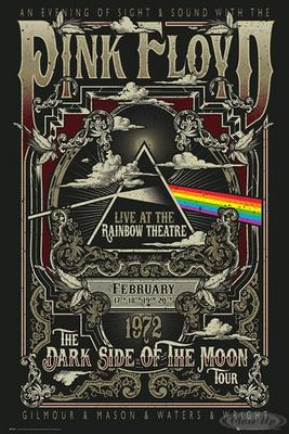 Pink Floyd Poster Live at the Rainbow Theatre, ...