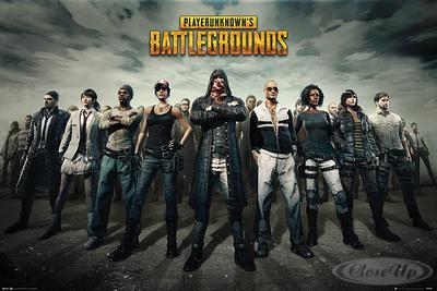 Player Unknown´s Battlegrounds Poster Group