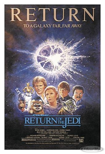 Star Wars Poster Return of the Jedi