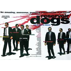 Reservoir Dogs Poster Let's go