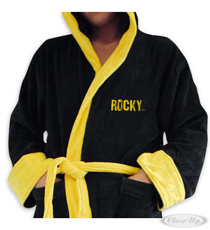 Rocky Balboa Luxus Bademantel
