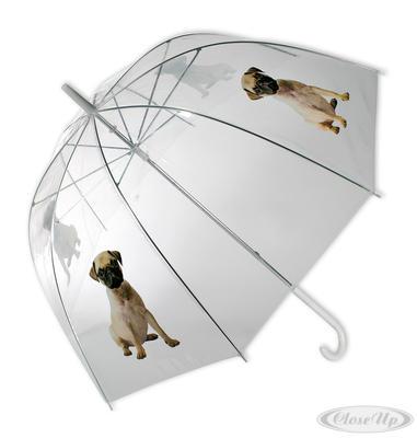 Regenschirm Mops