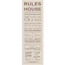 Rules of the House Kunstdruck