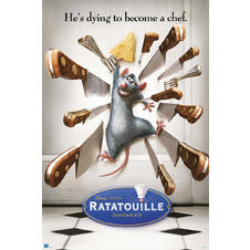 Ratatouille Poster He's dying