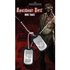 Resident Evil Dog Tags -