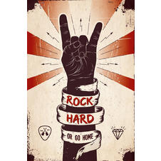 Rock Hard Or Go Home Poster