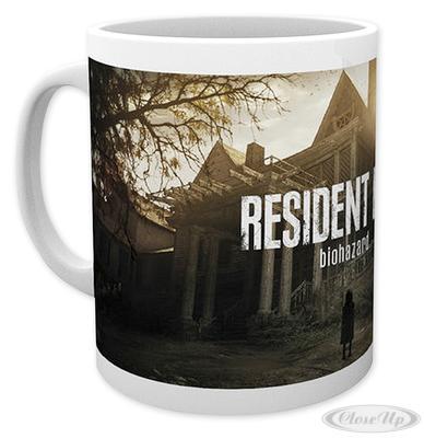 Resident Evil Tasse Biohazard Cover Art