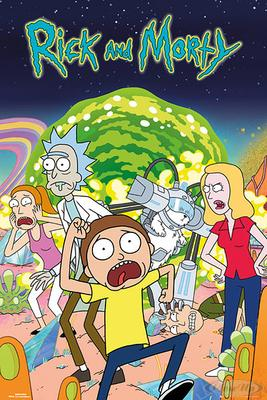 Rick and Morty Poster Charaktere