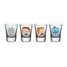 Rick and Morty Shot Glasses -