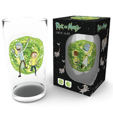 Rick and Morty Glass Portal