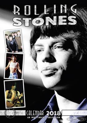 Rolling Stones Kalender 2018 Tributkalender
