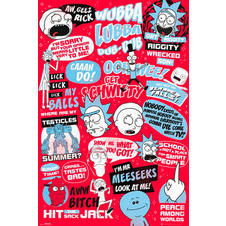 Rick and Morty Poster Quotes