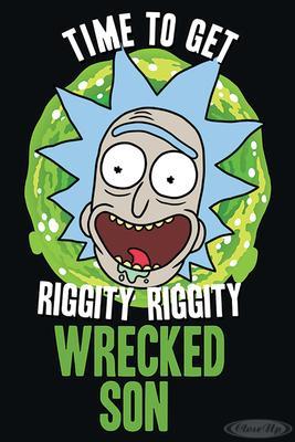 Rick and Morty Poster Wrecked Son | Dekoration > Bilder und Rahmen > Poster