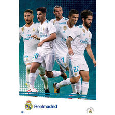 Real Madrid Poster Manschaft