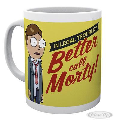Rick and Morty Tasse Better Call - broschei