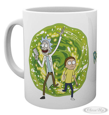 Rick and Morty Tasse Portal - broschei