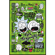 Rick and Morty Poster Quotes 2