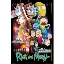 Rick and Morty Poster Wars