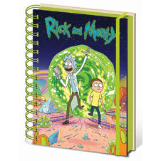 Rick and Morty Notizbuch DIN