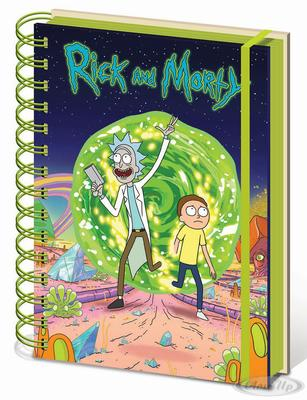 Rick and Morty Notizbuch DIN A5 Portal