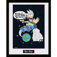 Rick and Morty Collector Print