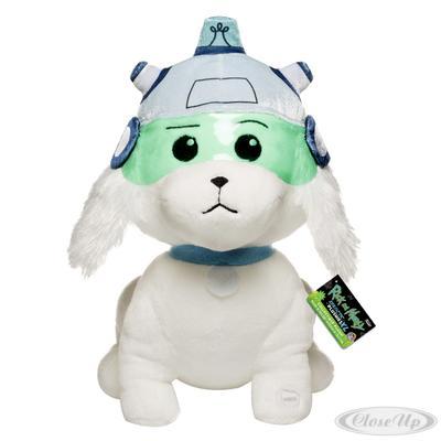 Rick and Morty XL Plüschfigur Snowball mit Sound   Kinderzimmer > Spielzeuge > Stofftiere