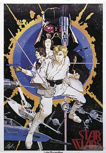 Star Wars 1st Edition Poster