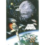 Star Wars Poster Space Battle