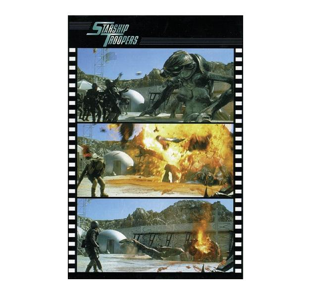 starship troopers poster poster gro format jetzt im shop bestellen close up gmbh. Black Bedroom Furniture Sets. Home Design Ideas