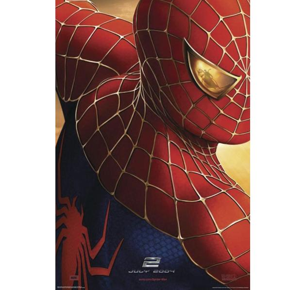 Spider-Man 2 Poster July 2004