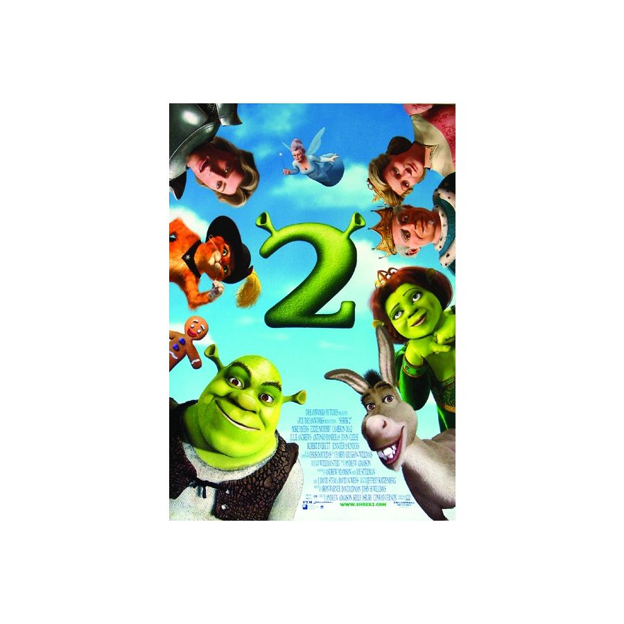shrek 2 poster posters buy now in the shop close up gmbh. Black Bedroom Furniture Sets. Home Design Ideas